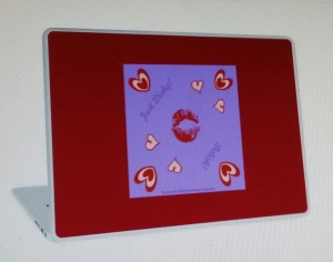 Just Dishy Laptop Skin RB