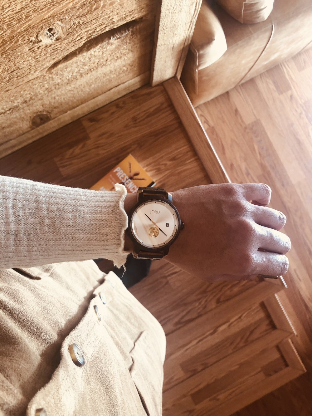 A timeless piece featuring  JORD Watches . I'm wearing the HYDE Sandalwood + Ivory piece,  check this out to win $100 towards your own classic, all-natural wooden watch.
