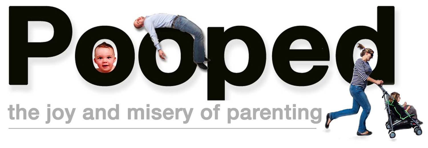 POOPED: the joy and misery of parenting