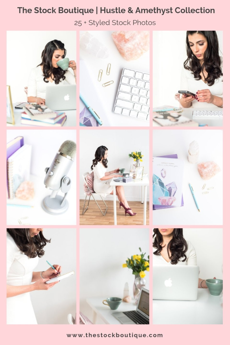 Female entrepreneur stock photos. We giveaway a styled stock photo every month when you subscribe! www.thestockboutique.com   #stockphoto     #styledstockphotos     #girlboss     #femaleentrepreneur