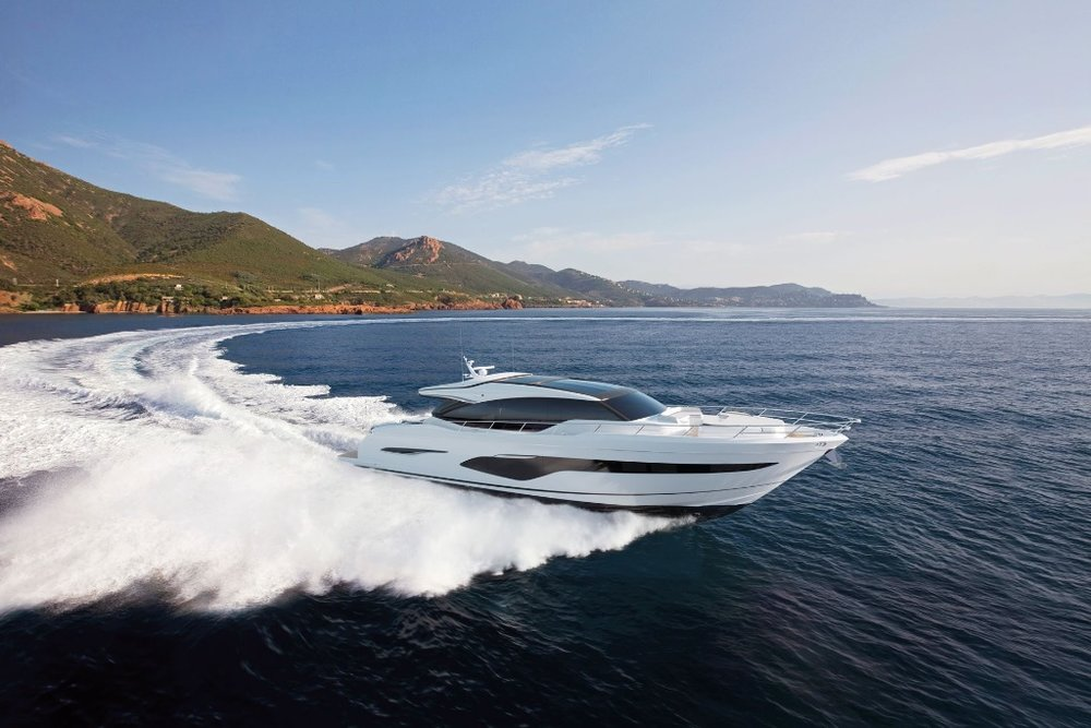 PRINCESS V78 - With a bold exterior concealing a spacious interior, the all-new Princess V78 is the flagship of our V Class range. With twin MAN V12 engines taking you up to 39 knots, she is power performing with elegance in our finest V Class experience.