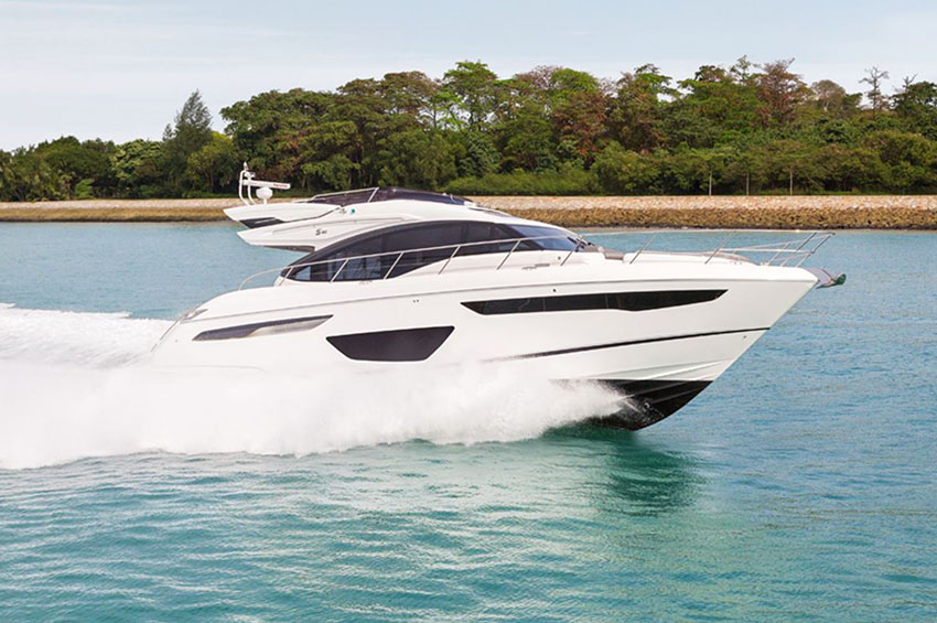 PRINCESS S60 - Powerful, exhilarating and precise yet timelessly elegant and sophisticated, the Princess S60 blends iconic design, exceptional engineering and unrivalled craftsmanship to create an unforgettable, emotional experience.