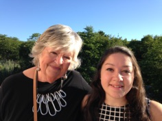 Sandy and her junior buyer, Daniela Ochoa, travelled to NYC for a buying trip.