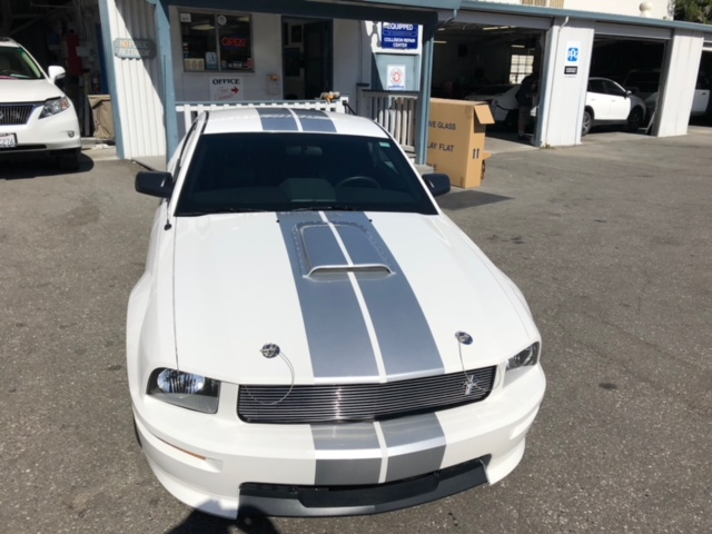 Ford Mustang Body and Paint Repair