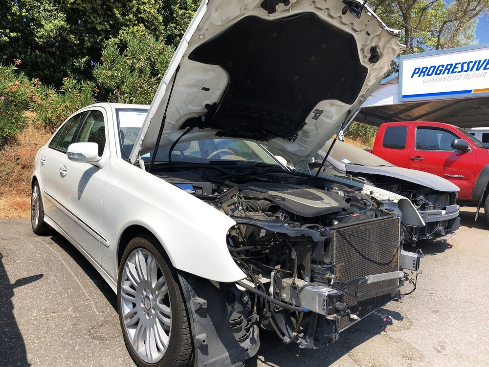 Mercedes Benz collision and body repair