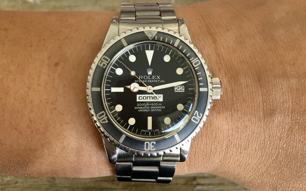 Conquering the Deep  The Relationship Between Rolex and COMEX — The Craft    Tailored Blog e3cae96e5