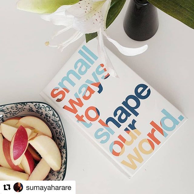 """Every page is a sentence of wisdom that you can live your life by and I think it's actually amazing!"" . . . A thanks for sharing @sumayaharare 💕 we are so excited you are part of this journey 💯"