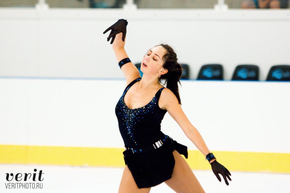 Elizaveta Tuktamysheva in practice at Lombardia Trophy (   photo by Verit   )