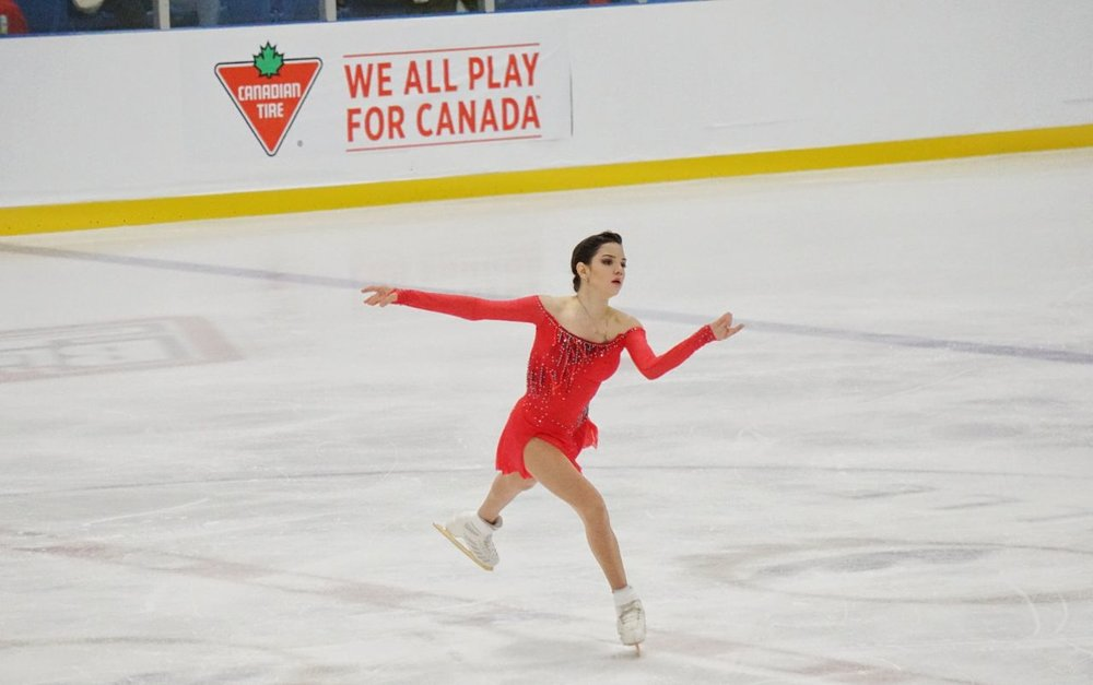 Evgenia Medvedeva skates her free program at Autumn Classic International (   Photo credit: Yogeeta   )