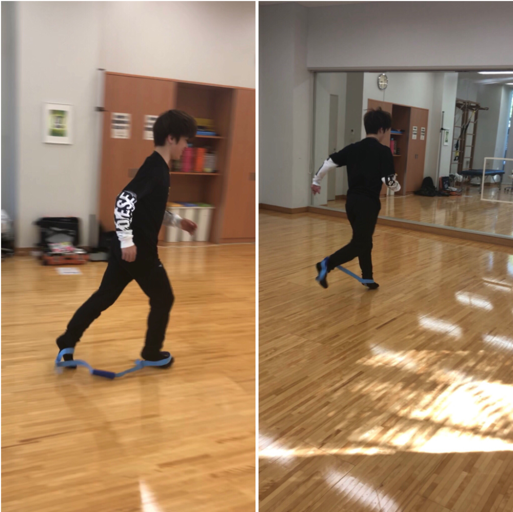 Shoma Uno using a stretching band very… effectively (   Photo credit: Demmy   )