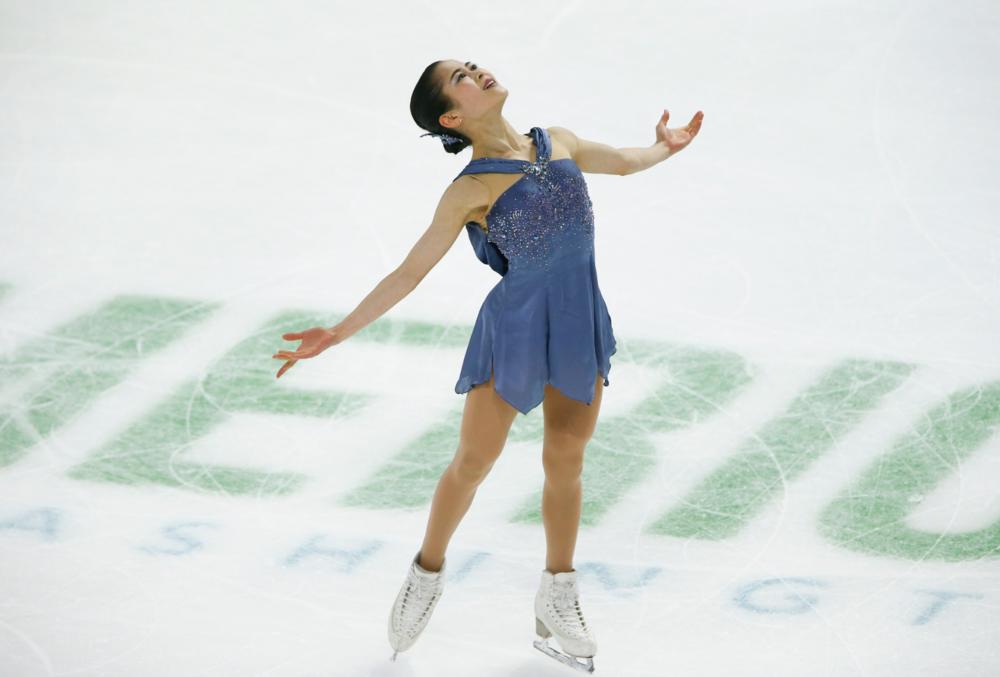 Satoko Miyahara (JPN) performing her Short Program at Skate America 2018 ( Photo Credit: ISU )