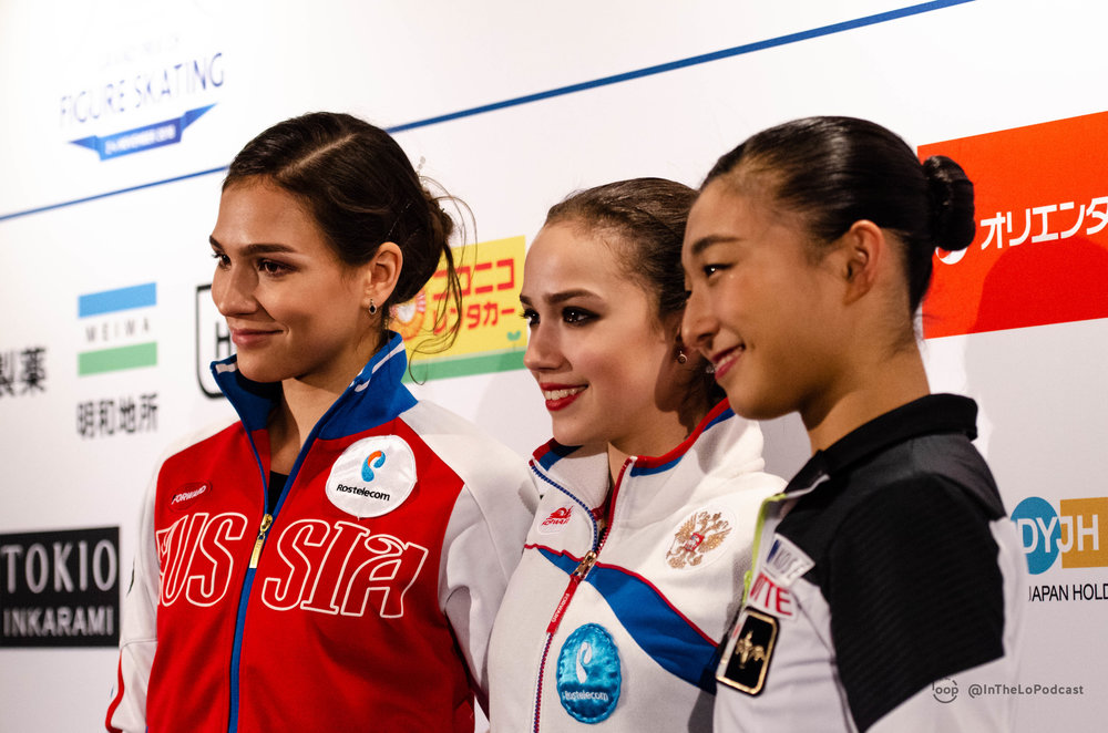 GP Helsinki Ladies medallists pose for a photo (Photo credit:    Tilda   , edited by    Gabbs   )