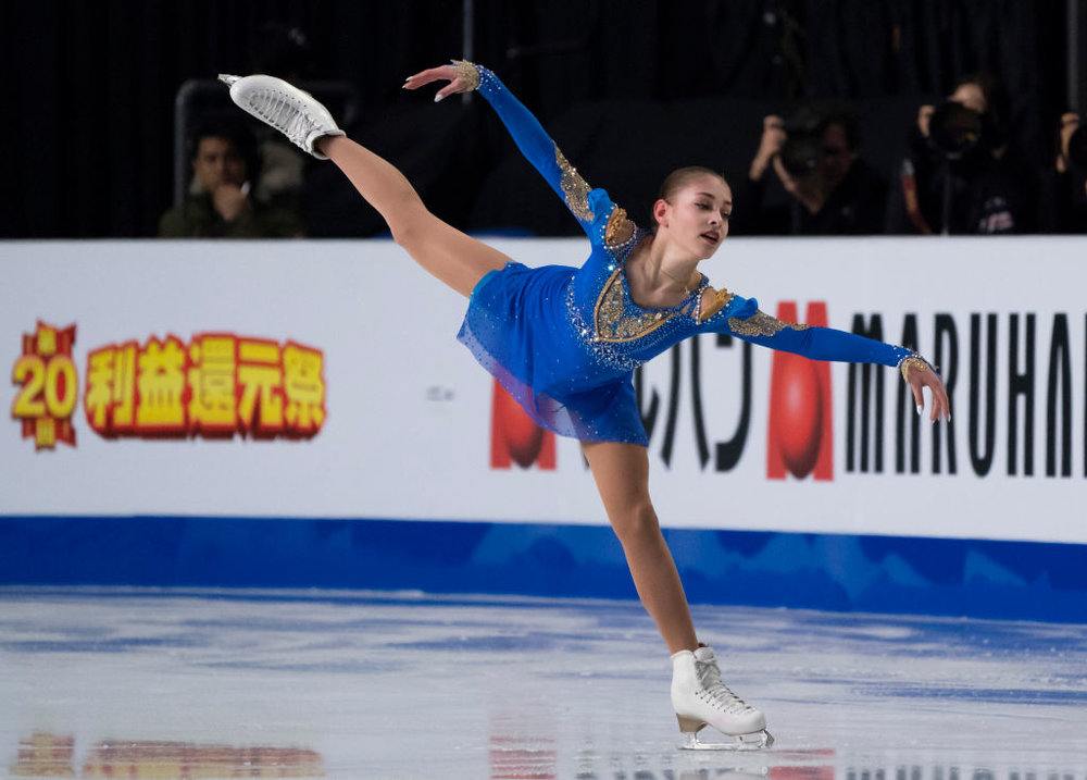 "JGPF Ladies Champion Alena Kostornaia performs her ""Romeo and Juliet"" Free Skate (   Photo credit: ISU   )"