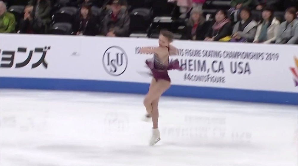 Mariah Bell 3Lz(+3T), SP