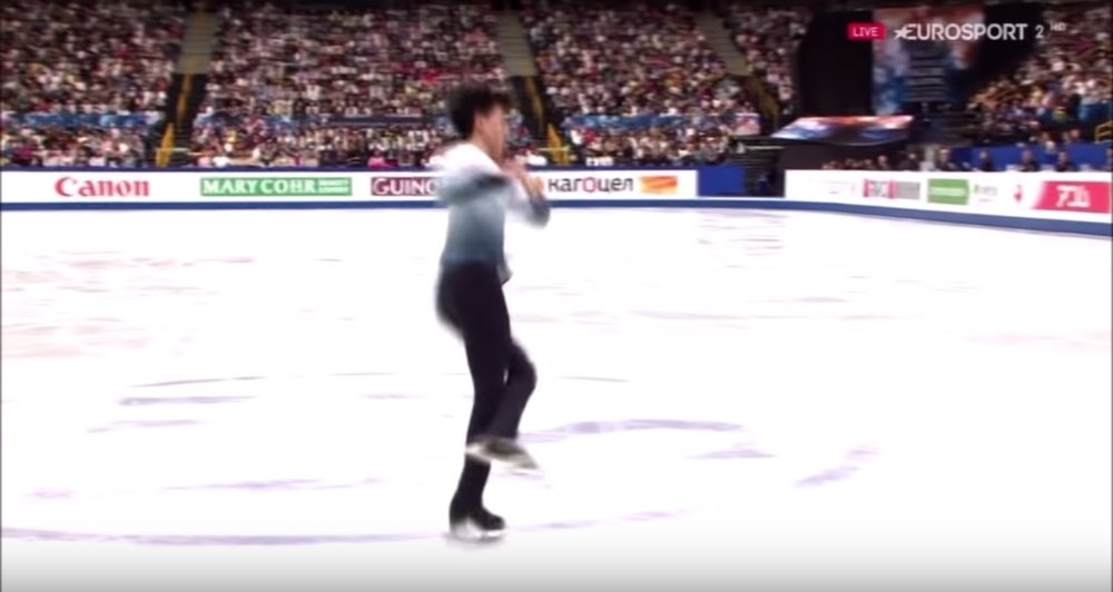Vincent Zhou SP 4Lz(+3T)
