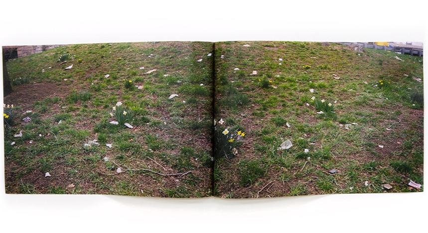 "Constellations  17"" x 11.5""  laser print book  2018"