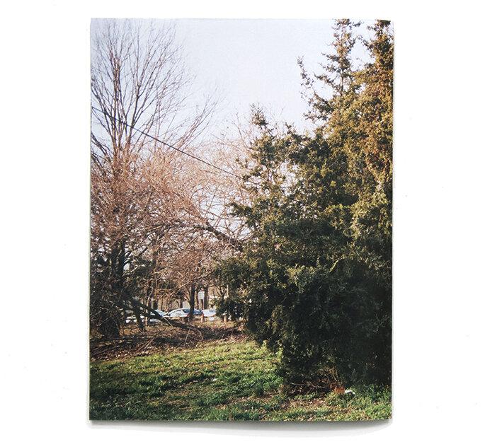 "Cedar  7.5"" x 10""  laser print book  2018"