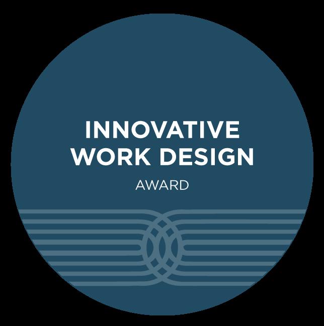 Innovative Work Design Award Logo Mark