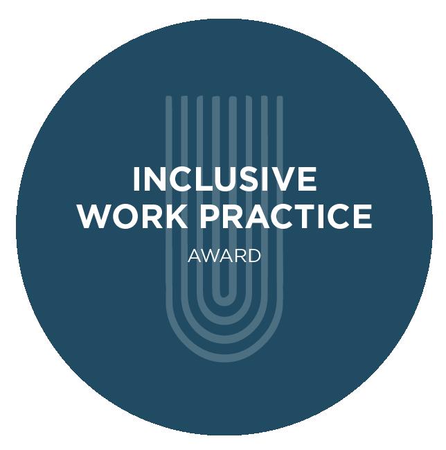 Inclusive Work Practice Award Logo Mark