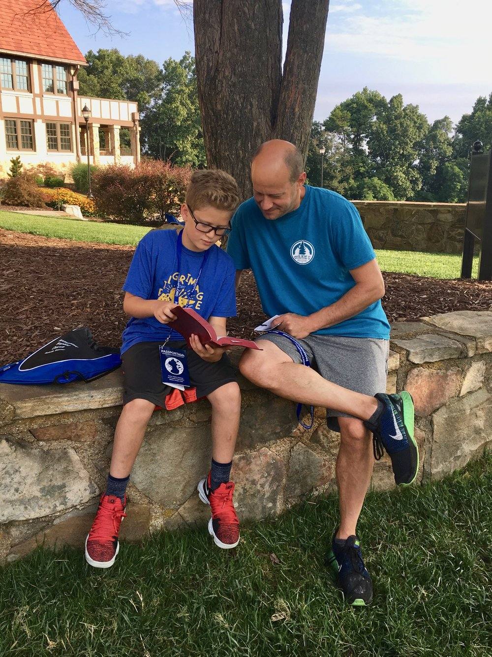 Our older children have the opportunity to attend Passport Kids Camp each summer.