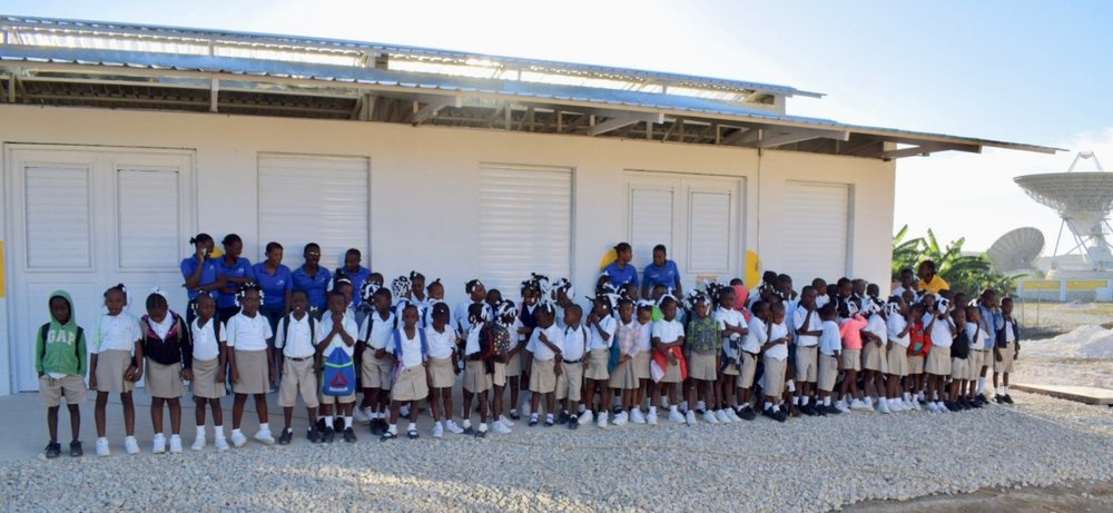 The students and staff of The Joseph School in Cabaret, Haiti.