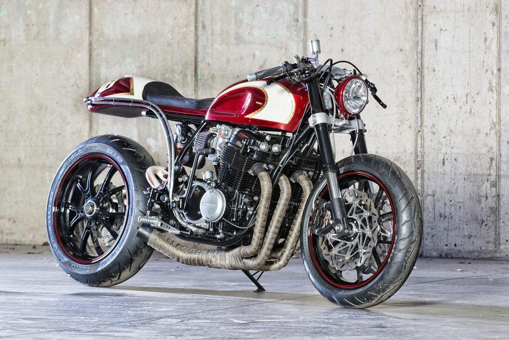 Barely Legal - 1974 Honda CB750K