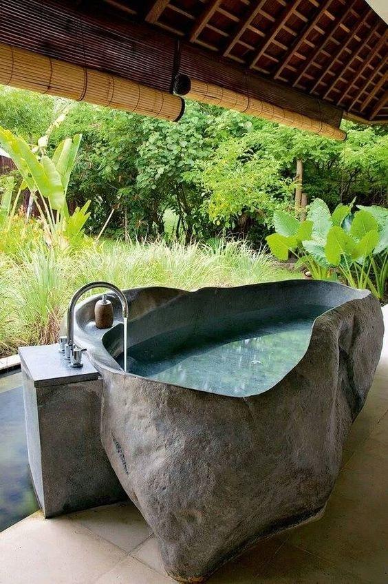 new rock bath better shape with water feed.JPG