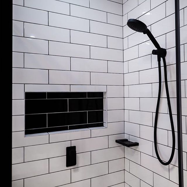Choose clean lines and statement features make for that contemporary urban industrial bathroom 🖤  #bathroomsofinstagram #realestate #design #architecture #bathroomdesign #bathroomdecor #bathroomremodel #moderndesign