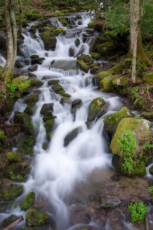 GSMNP Waterfall V -