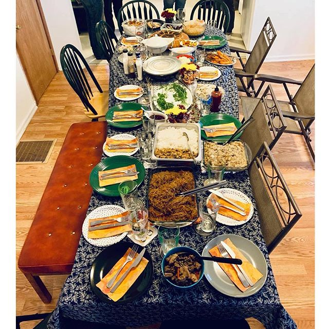 Happy #Friendsgiving everyone, from all of us at @asianpasifikaarts! 🍗🥂💗 #AsianArtists #Baltimore #BaltimoreArtists #HappyThanksgiving #HappyHolidays #FamBam #RepresentationMatters #BaltimoreLife #BaltimoreArt #BaltimoreTheatre #CharmCity #CharmCityLife #Noms #Foodie #AsianFood