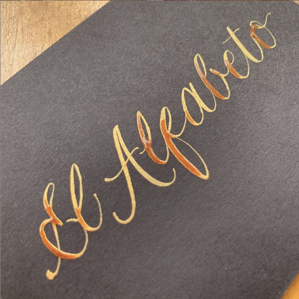 Calligraphy for Bespoke Gifts