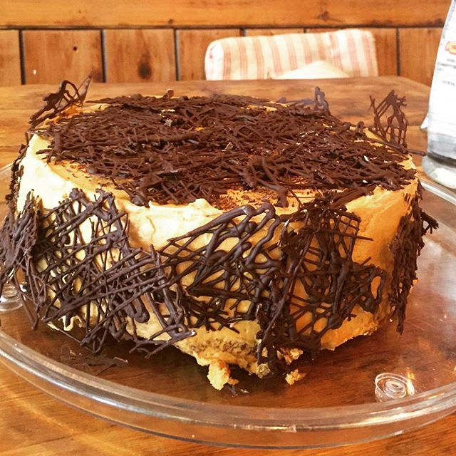 New cake Choc banana GF Butter, cornmeal, banana, choc, almond, brown sugar, caster sugar, eggs #glutenfree #london #cakes #notinghill #summer #foodie #golborneroad #golbornedeli #westlondon #notinghill #portobello
