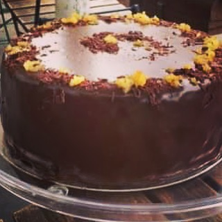 New cake Dark Chocolate & Orange cake- gluten free, chocolate, butter, eggs, cocoa powder, caster sugar, orange . #glutenfree #cake #cakes🎂 #london #portabello #foodie #summer #golborneroad #golbornedeli #golbornemarket