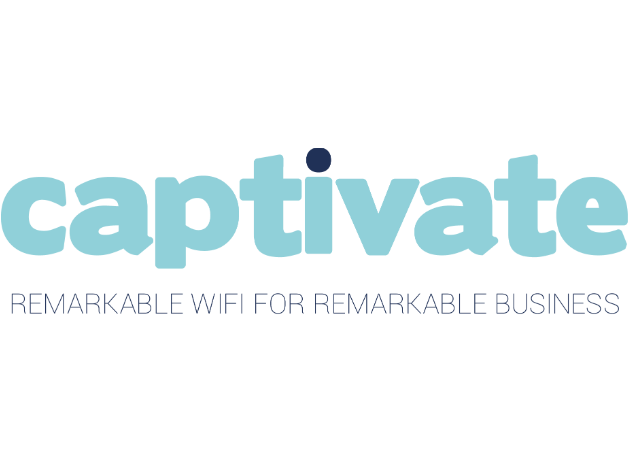 Captivate - Full software delivery for captive WiFi portal, onboarding and data analysis. End users benefit from key data on their own users for marketing, and compliance purposes.
