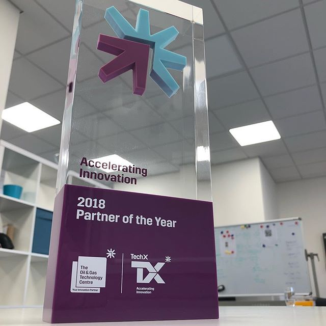 "So incredibly chuffed to share the fact that we won the inaugural ""Partner of the Year"" to @theogtc for their Tech X programme. We've had such an amazing time partnering with some incredible companies. Can't wait for the next chapter starting tomorrow! #pinnaclesoftware #softwaredevelopment  #watchthisspace"