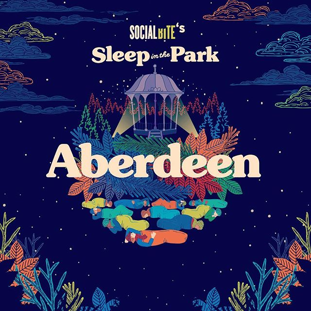 Delighted to announce our participation in this year's Sleep in the Park! A little late in getting the ball rolling BUT in a bid to catch up every £ raised will be matched! Give a helping 🖐! Link in our Bio! #sleepinthepark #underthestars #developersintheoutdoors #aberdeen @social_bite