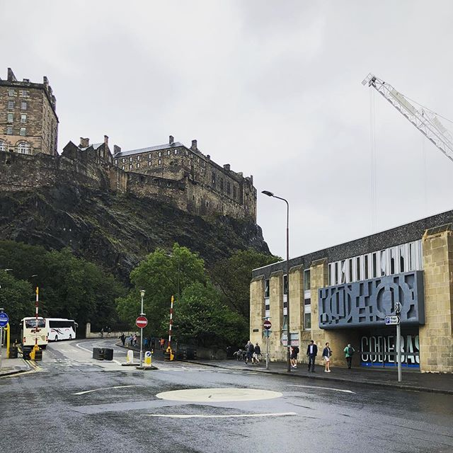 @codebasetech definitely were not kidding when they said they had one the best views of #edinburghcastle. Excited to see this hub extend to the North East of Scotland. Shame they can't bring the castle along with them! #innovation #hub #softwaredevelopment