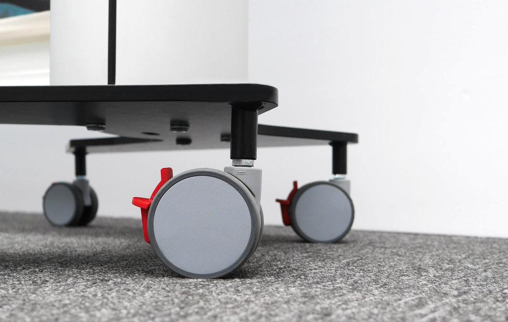 KwickScreen Pro Wheels