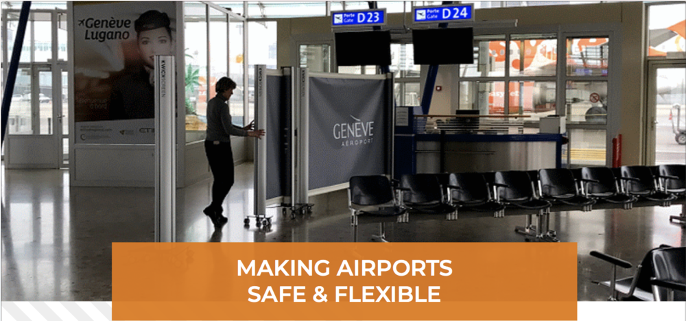 KwickScreen making airports safe and flexible geneva