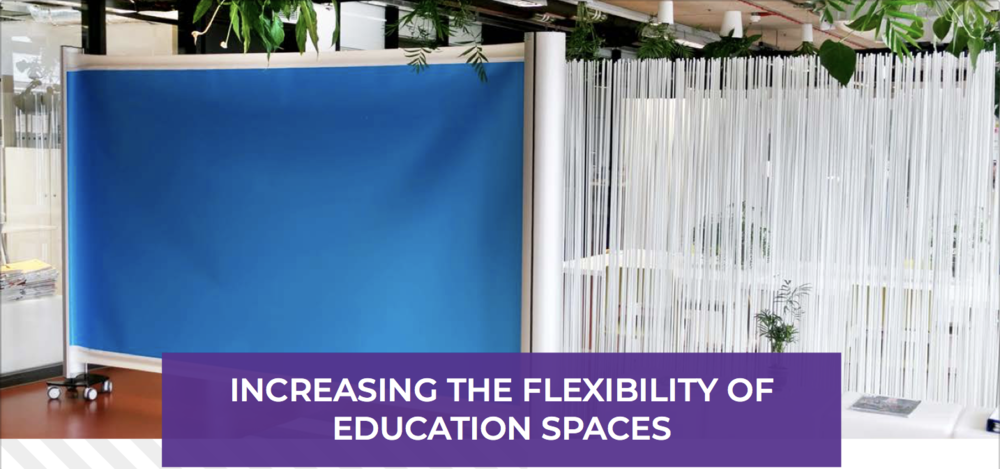 KwickScreen Increasing the flexibility of education spaces