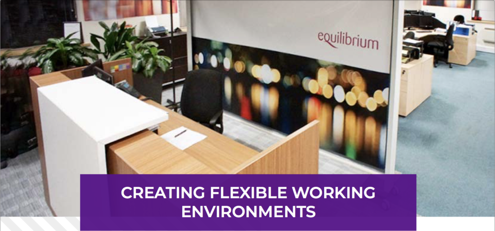 KwickScreen creating flexible working environments