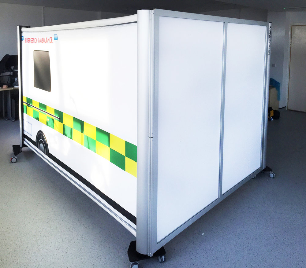 SIMBULANCE - FOLDABLE. RETRACTABLE. AMBULANCE