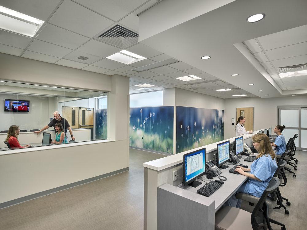 KwickScreen Artwork up in Cooper University Medical Centre