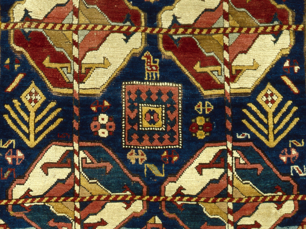 The world's leading carpet and textile dealers showing at the Mall Galleries, near Trafalgar Square