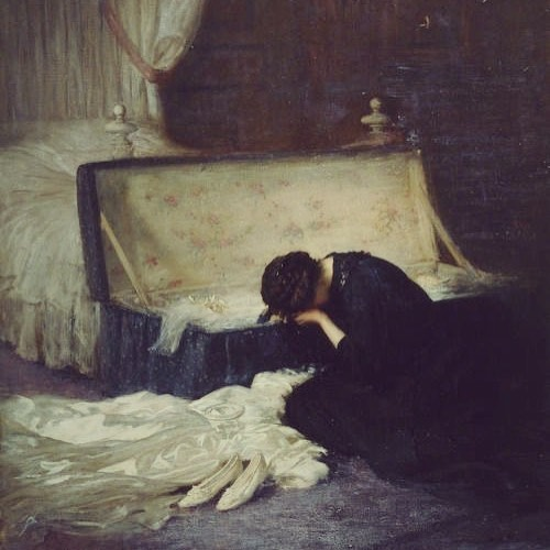 The Wedding Dress |Frederick William Elwell 1911 x🖤x
