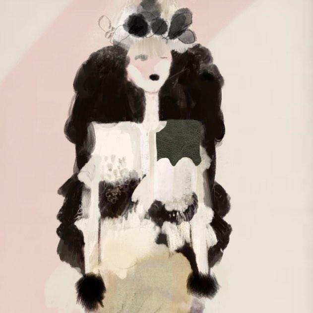 Friday sketching #fashionillustration