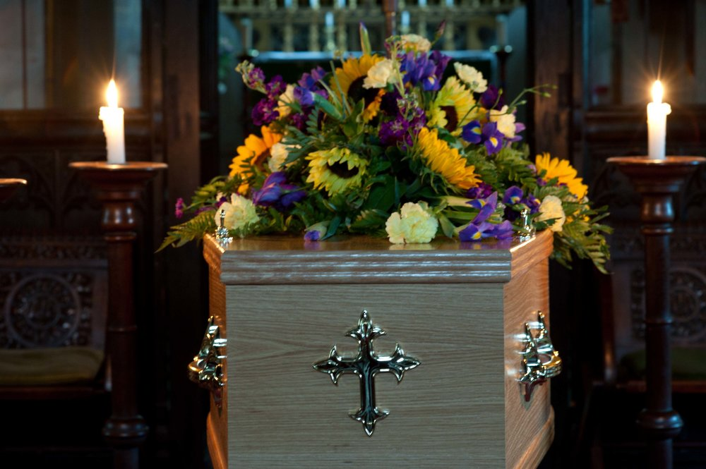 Funeral at All Saints