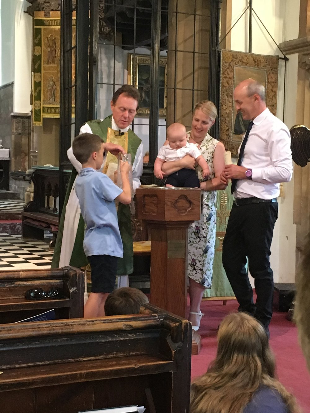 Baptism at All Saints