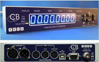 New Product - TC-5 LTC -Midi-USB Display/Converter — CB Electronics