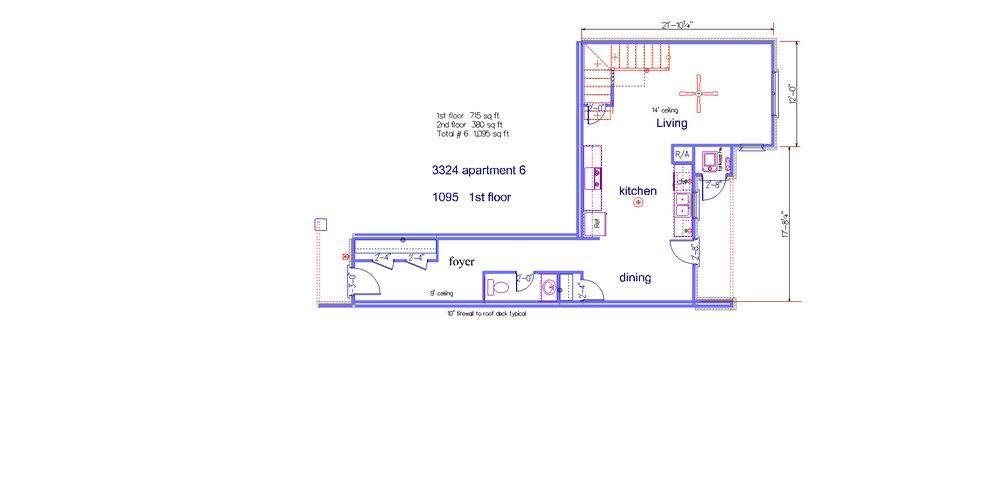 1st floor  3324 #6